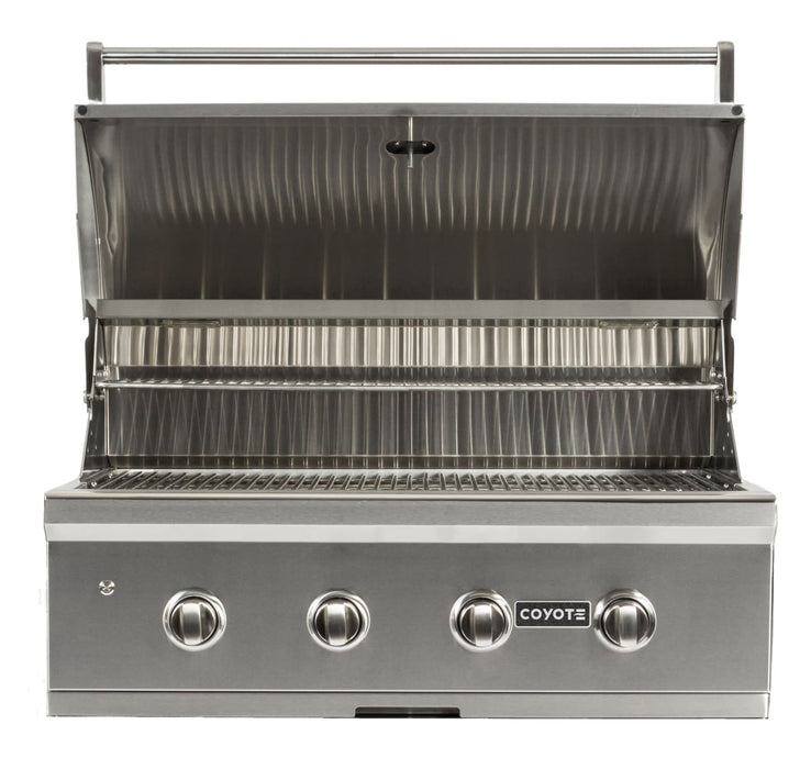 "Coyote 36"" Grill with Infinity Burners; LP Gas"