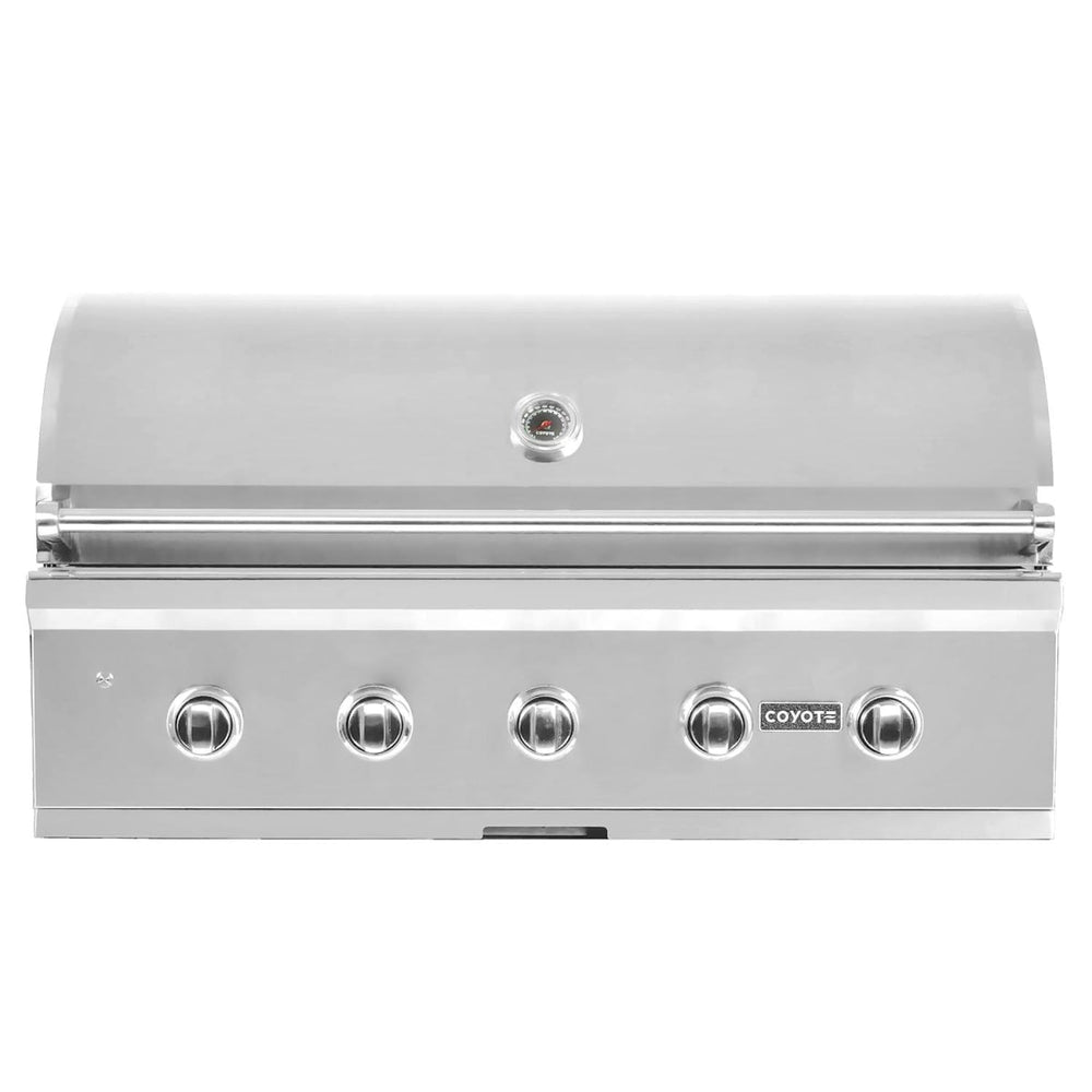"Coyote 42"" Grill with Infinity Burners; Natural Gas"