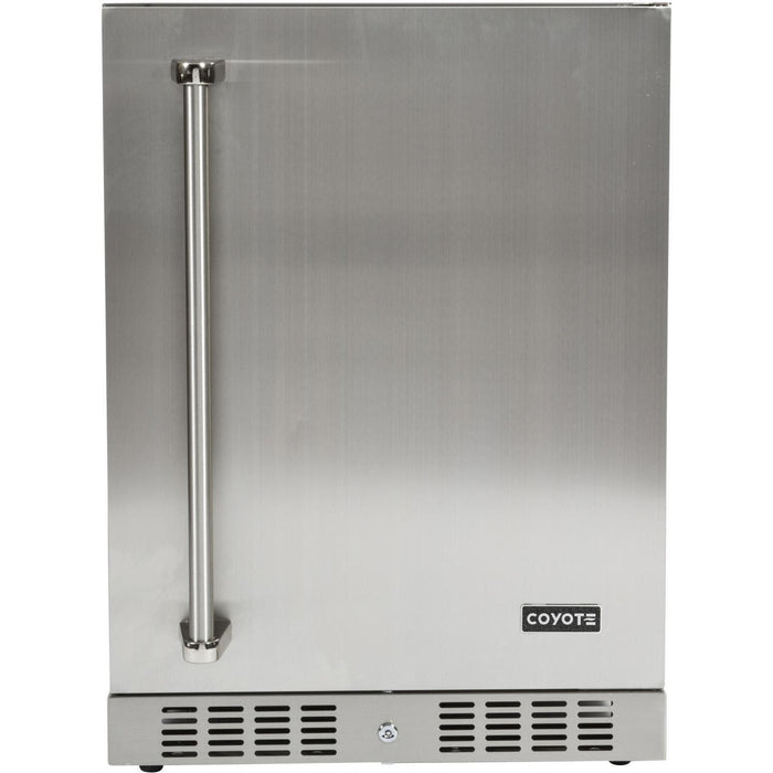 "Coyote 24"" Built-in Outdoor Refrigerator (3616253149264)"