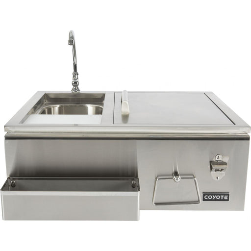 Coyote 30-Inch Stainless Steel Built-In Refreshment Center - CRC (3616253214800)
