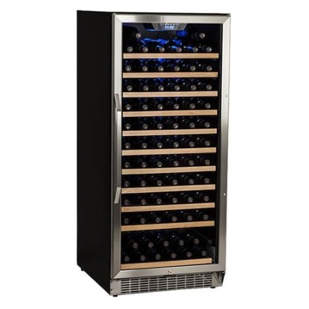 "121 Bottle 24"" Built-In / Free Standing Single Zone Wine Cooler (3604368064592)"