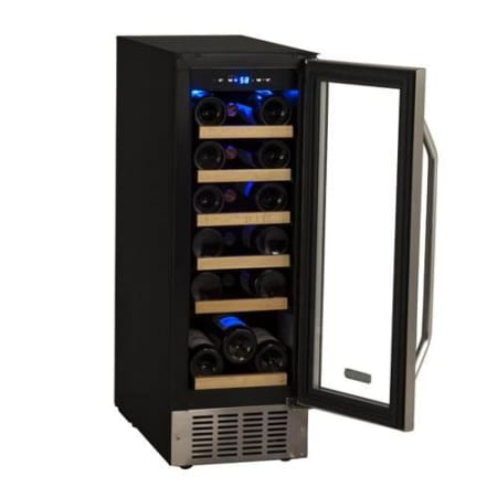 "18 Bottle 12"" Built-In Single Zone Wine Cooler (3622675906640)"