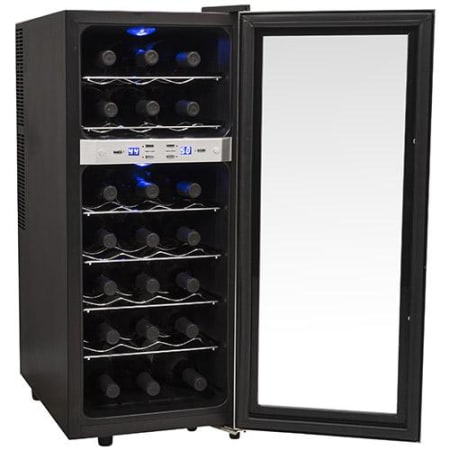 21 Bottle Free Standing Dual Zone Wine Cooler (3622676201552)