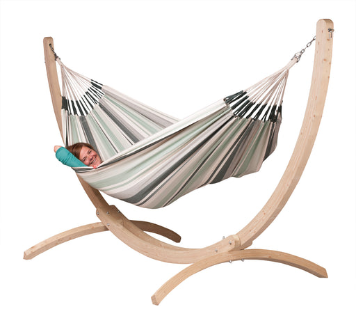 Canoa Caramel - FSC Certified Spruce Stand for Double Hammocks (3625902506064)