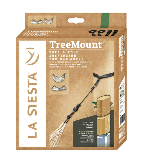 TreeMount Black - (Tree and Pole) Suspension for Hammocks (3625902964816)