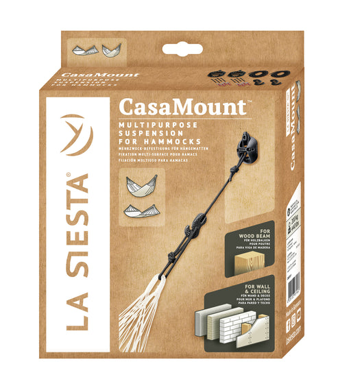 CasaMount Black - (Multipurpose) Suspension for Hammocks (3625902899280)