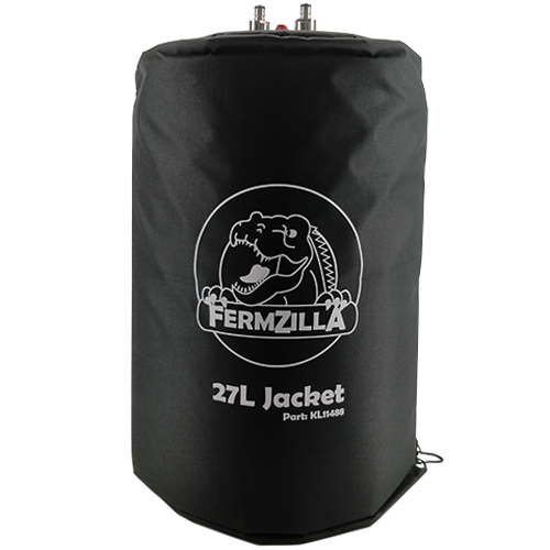 FermZilla with Essential Acessory Kit - Includes 7.1 GAL FermZilla Unitank, Pressure Kit, Handle Kit, Inuslation Jacket & Blowtie Spunding Valve Kit