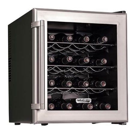 16 Bottle Free Standing Single Zone Wine Cooler