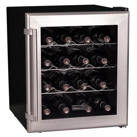 16 Bottle Free Standing Single Zone Wine Cooler (3604367835216)