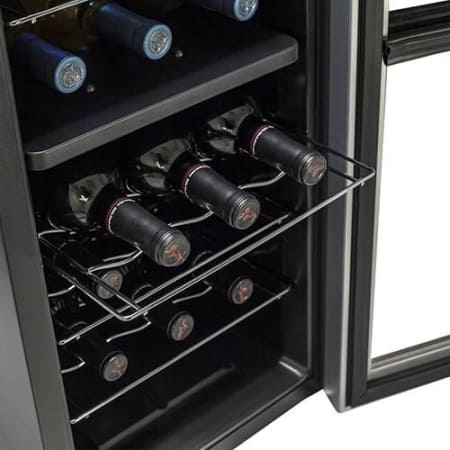18 Bottle Free Standing Dual Zone Wine Cooler (3604367900752)