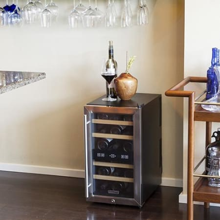 18 Bottle Free Standing Dual Zone Wine Cooler (3604367933520)