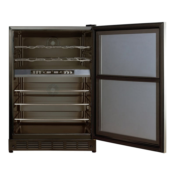 "24"" Dual Zone Built-in Wine & Beverage Cooler (3604368031824)"