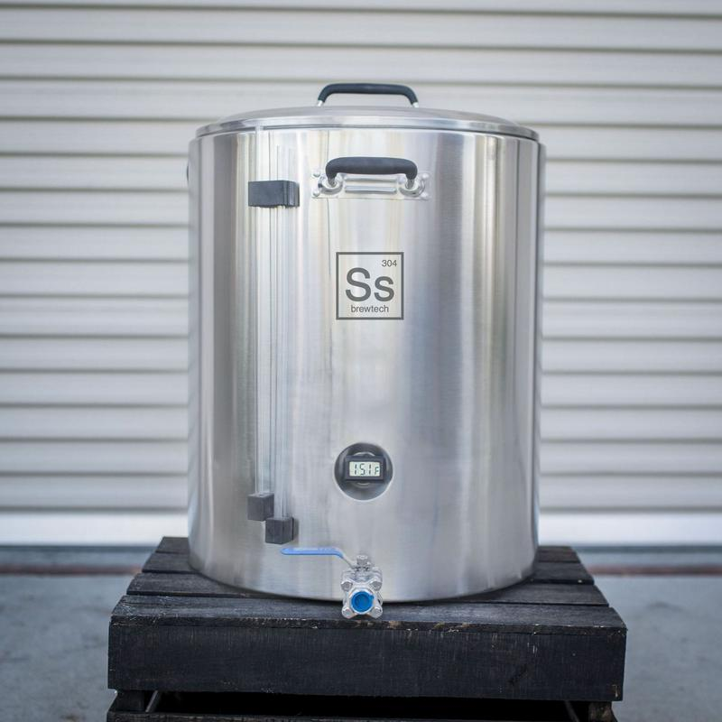 20 Gallon Stainless Steel InfuSsion Homebrewing Mash Tun - MT20-01