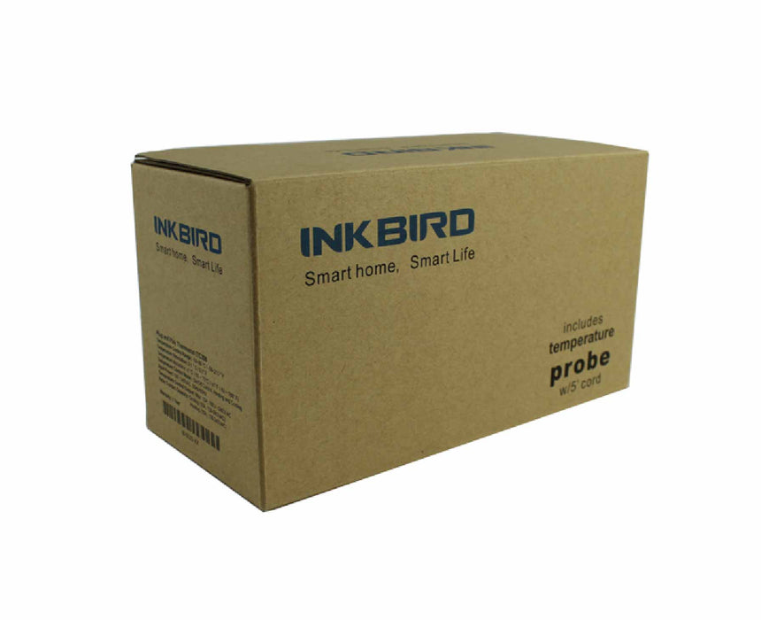 Inkbird ITC-310T-B Programmable Digital Temperature Controller - (12 Stage) (3630456504400)
