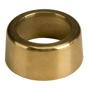 "Brass ""T"" tower outside flange (flat)"