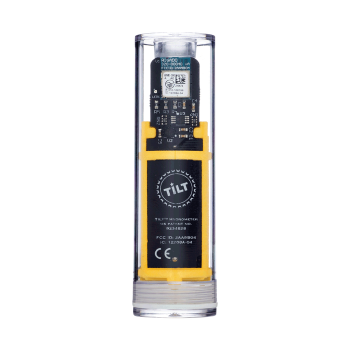 Digital Wireless Bluetooth Homebrew Hydrometer and Thermometer for Smartphone or Tablet