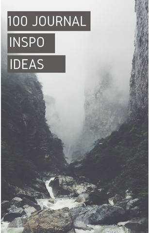 Ebook: 100 Journal Inspiration Ideas