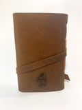 LARGE Rustic Sidewinder Wrap-Around Journal OR Artist Book