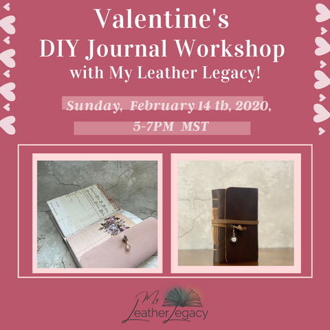 Valentine's Day ONLINE Workshop - Individual Books or Couples Sets!