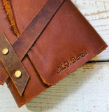 Large Wrap Around Southwest Style Leather Journal