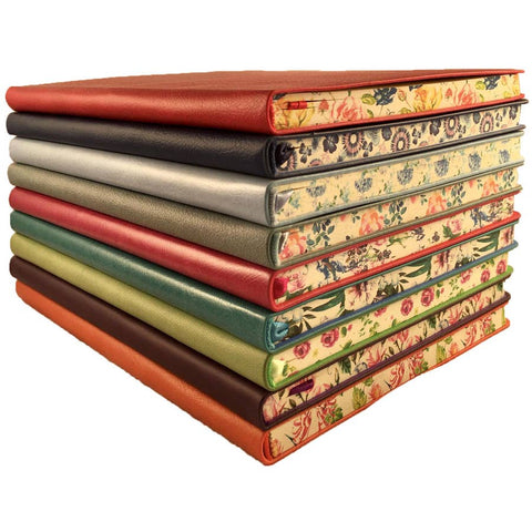 6x9 Floral Edge Lined Journals