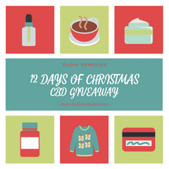 12 Days of Christmas CBD Giveaways