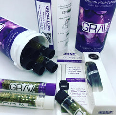 Exclusive Retailer of Grav CBD Glass Joint & Bud