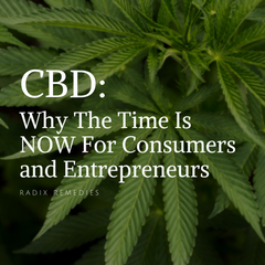 CBD: Why The Time Is NOW For Consumers and Entrepreneurs