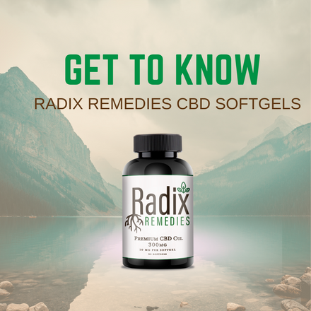 Get to Know Radix Remedies CBD Softgels