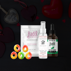 CBD Valentine's Gift Set With Chocolate