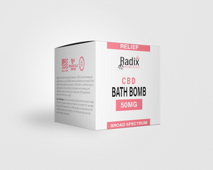 Radix Relief Bath Bomb 50MG - Radix Remedies