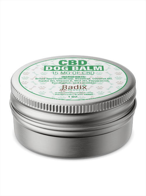 CBD Dog Balm - Radix Remedies