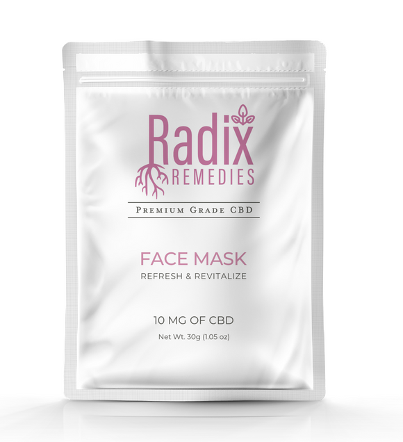 CBD Face Mask - Radix Remedies