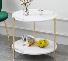 Load image into Gallery viewer, Faux Marble Side Tables - Moonova Home