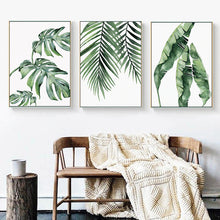 Load image into Gallery viewer, Tropical Leaves Wall Art - Moonova Home