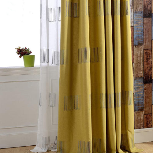 Barcode Curtain Panels
