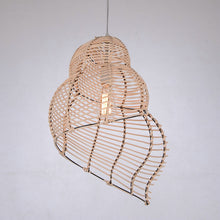 Load image into Gallery viewer, Curved Bamboo Pendant Lamp - Moonova Home