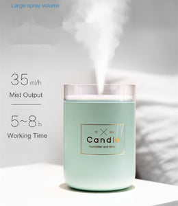 Candle Shaped Diffuser/Humidifier - Moonova Home