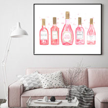 Load image into Gallery viewer, Rosé All Day Print - Moonova Home