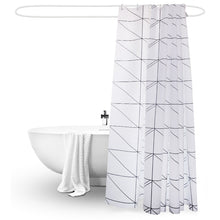 Load image into Gallery viewer, Minimalist Geometric Shower Curtain