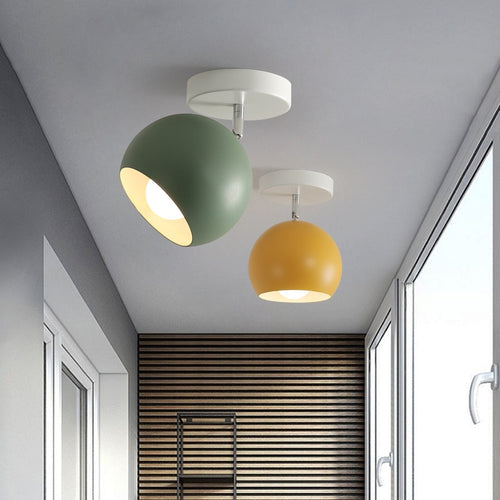 Color Pop Semi Flushmount Lamps - Moonova Home