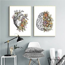 Load image into Gallery viewer, Floral Anatomy Prints - Moonova Home