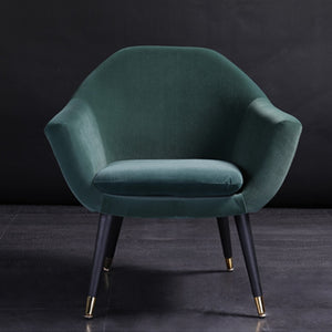 Retro Velvet Accent Chair - Moonova Home