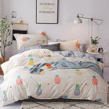 Load image into Gallery viewer, Colorful Pineapples Bedding Set - Moonova Home