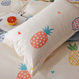 Colorful Pineapples Bedding Set - Moonova Home