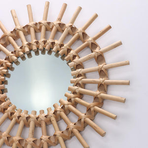Rattan Wall Mirrors - Moonova Home