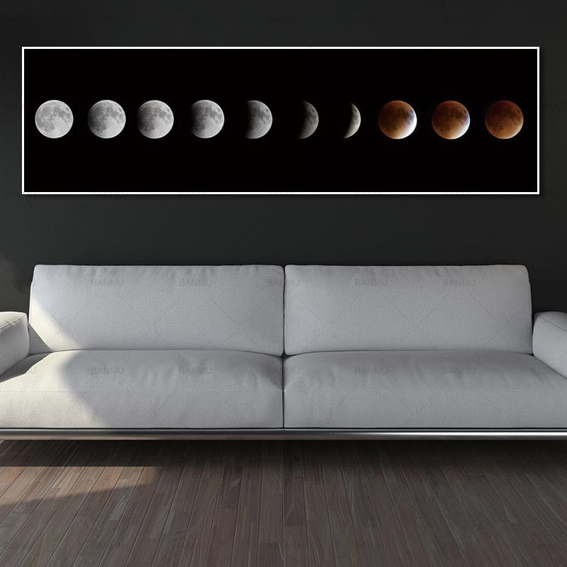 Moon Eclipse | Canvas Art