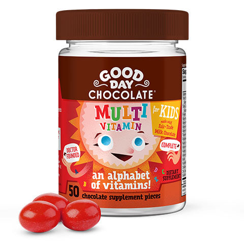 Multivitamin Milk Chocolate Vitamin for Kids