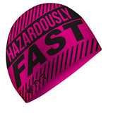 TYR Silicone Swim Cap Hazardously Fast