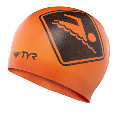 TYR Silicone Swim Cap Swimmers Only